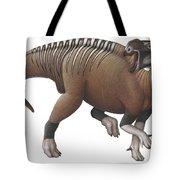 Muttaburrasaurus Dinosaur Tote Bag