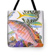 Mutton Snapper Reef Tote Bag