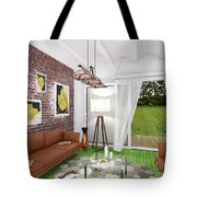 My Art In The Interior Decoration -leaf- Elena Yakubovich Tote Bag