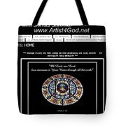 My Artist4god Website Tote Bag