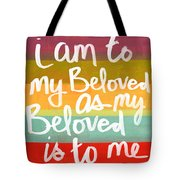 My Beloved Tote Bag by Linda Woods