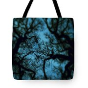 My Blue Dark Forest Tote Bag