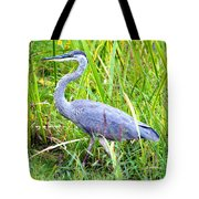 My Blue Heron Tote Bag by Greg Fortier