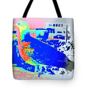 my bonnie lies over the ocean but I am here  Tote Bag by Hilde Widerberg