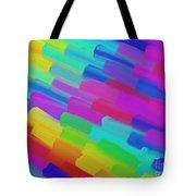 My Box Of Color Tote Bag