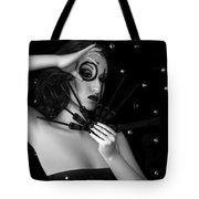 My Darkest Midnight - Self Portrait Tote Bag