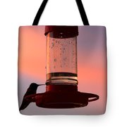 My Evening Visitor Tote Bag