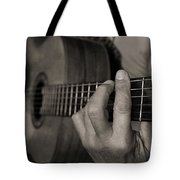 My Father's Hands By Diana Sainz Tote Bag