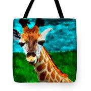 My Favorite Giraffe Tote Bag