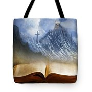 My Firm Foundation Tote Bag