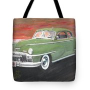 My First Car Tote Bag