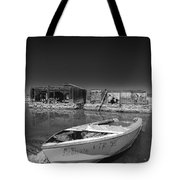 My Front Yard Black And White Tote Bag
