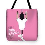 My Giro D'italia Minimal Poster Tote Bag