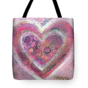 My Glittering Heart Tote Bag