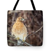 My Good Side Square Tote Bag