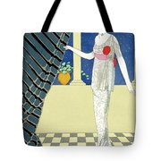 My Guests Have Not Arrived Tote Bag by Georges Barbier