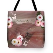 My Heart Is In Your Hands Tote Bag