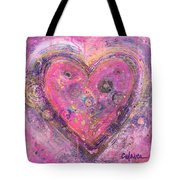 My Heart Of Circles Tote Bag