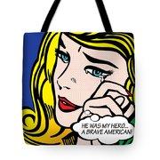 My Hero Tote Bag by Gary Grayson