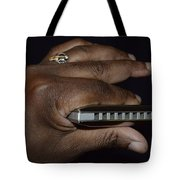 My Afro Blues Harmonica - Solo Blues Tote Bag