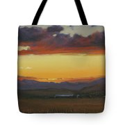 My Home's In Montana Tote Bag