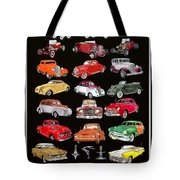 Hot Rod Ford Poster Tote Bag