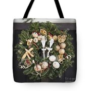 My Lady And His Lordship Wreath Tote Bag