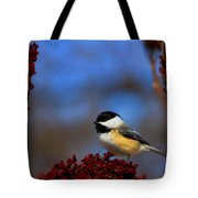 My Little Chicadee Tote Bag