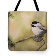 My Little Chickadee Tote Bag