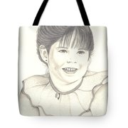 My Little Girl Tote Bag