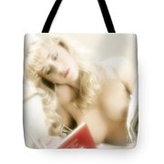 My Little Red Book Tote Bag