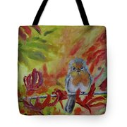My Little Titmouse Tote Bag