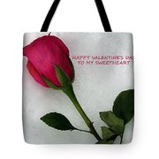 My Love To Keep You Warm Tote Bag
