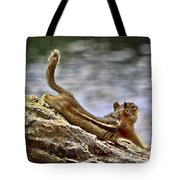 My Morning Stretch Tote Bag