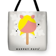 My Muppet Ice Pop - Miss Piggy Tote Bag by Chungkong Art