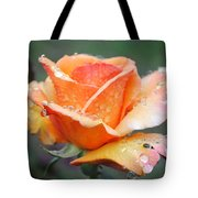 My Neighbor's Rose Tote Bag by Kate Word