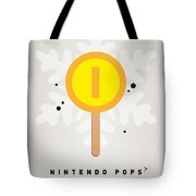 My Nintendo Ice Pop - Gold Coin Tote Bag