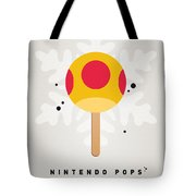 My Nintendo Ice Pop - Mega Mushroom Tote Bag by Chungkong Art