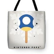 My Nintendo Ice Pop - Mini Mushroom Tote Bag by Chungkong Art