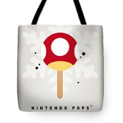 My Nintendo Ice Pop - Mushroom Tote Bag by Chungkong Art