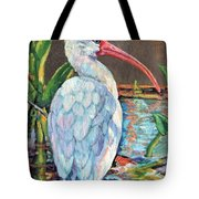 My One And Only Egret Tote Bag