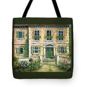 My Pink Italian Villa Tote Bag