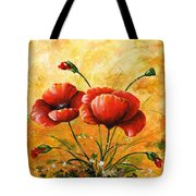 My Poppies 047 Tote Bag