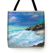 My Private Ocean Tote Bag