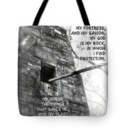 My Rock And Fortress Tote Bag