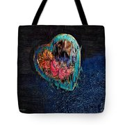 My Rough Imperfect Heart Tote Bag