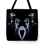 My Smoking Heart Tote Bag