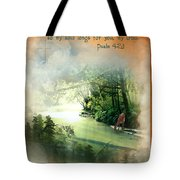 My Soul Longs For You Tote Bag
