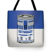 My Star Warhols R2d2 Minimal Can Poster Tote Bag