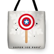 My Superhero Ice Pop - Captain America Tote Bag